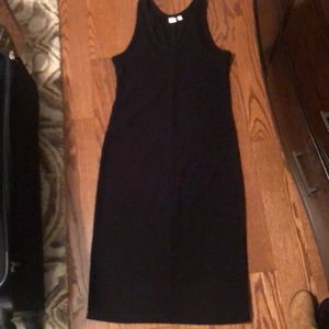 Black knitted GAP dress